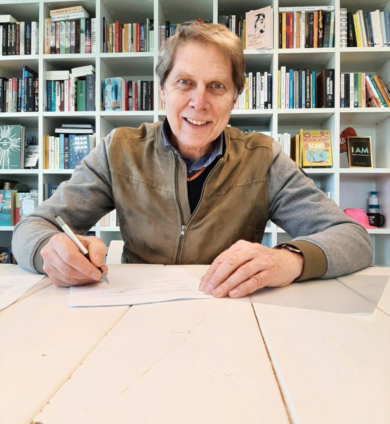 Wim Daniëls tekent voor nieuw boek